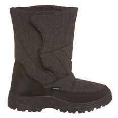 Tahwalhi Low Roll Mens Snow Boots Brown US 7, Brown, rebel_hi-res