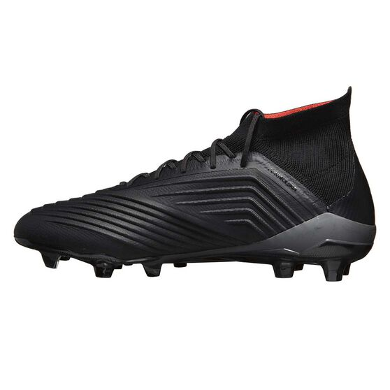 adidas Predator 18.1 Mens Football Boots, Black / Orange, rebel_hi-res