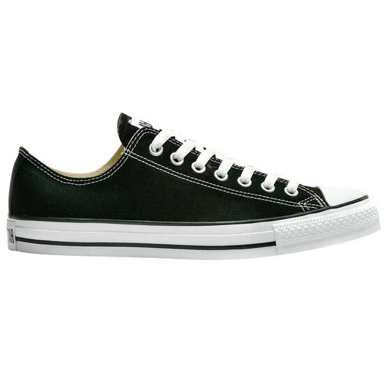 Converse Chuck Taylor All Star Low Casual Shoes, Black / White, rebel_hi-res