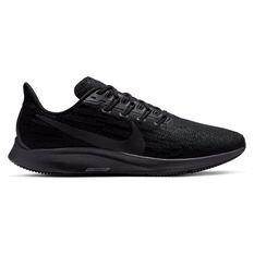 Nike Air Zoom Pegasus 36 Mens Running Shoes Black US 7, Black, rebel_hi-res