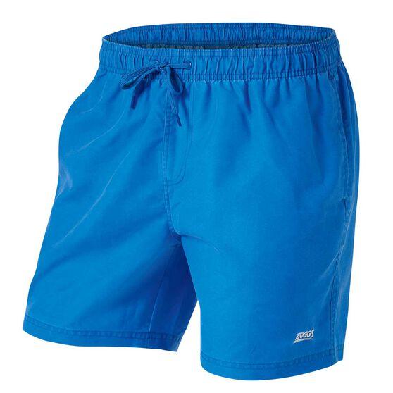 Zoggs Mens Phoenix Board Shorts, Blue, rebel_hi-res