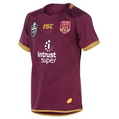 QLD Maroons State of Origin 2018 Kids Home Jersey, , rebel_hi-res