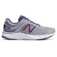 New Balance 680v6 D Womens Running Shoes Purple/White US 6, Purple/White, rebel_hi-res