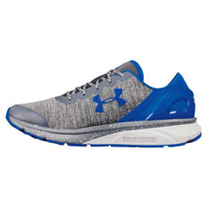 Under Armour Charged Escape Mens Running Shoes Grey / Blue US 7, Grey / Blue, rebel_hi-res
