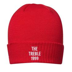 Manchester United New Era 1999 The Treble Cuff Knit Beanie, , rebel_hi-res