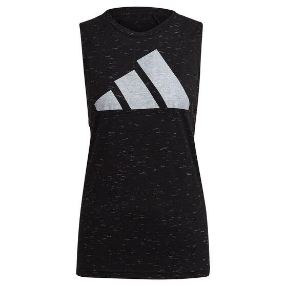 adidas Womens Winners 2.0 Tank, Black, rebel_hi-res