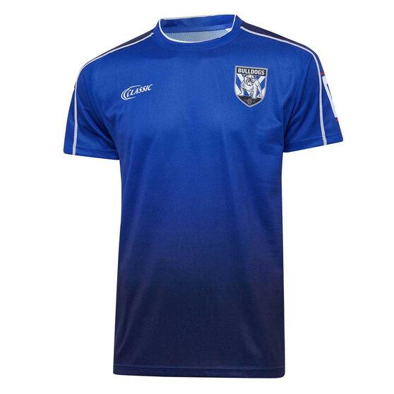 Canterbury-Bankstown Bulldogs 2020 Mens Training Tee, Blue, rebel_hi-res