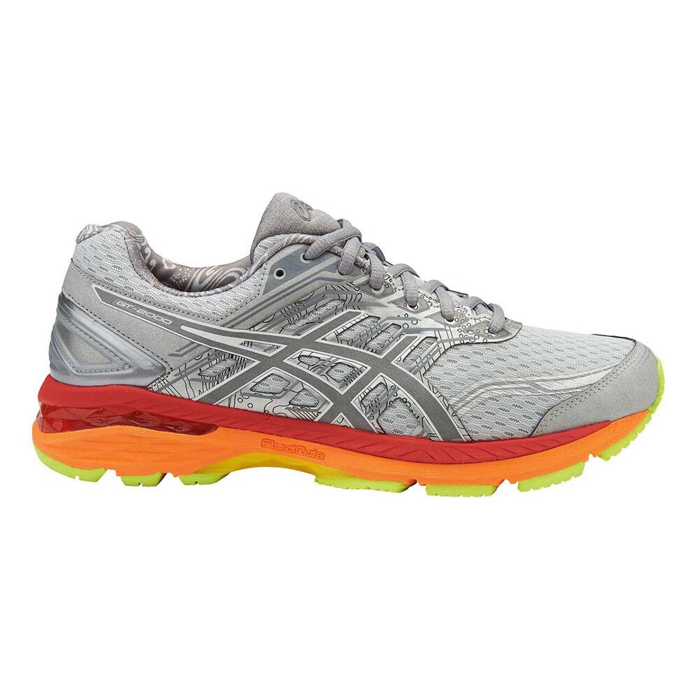 6ddfe021e3 Asics GT 2000 5 Lite Show Mens Running Shoes Grey   Orange US 7 ...