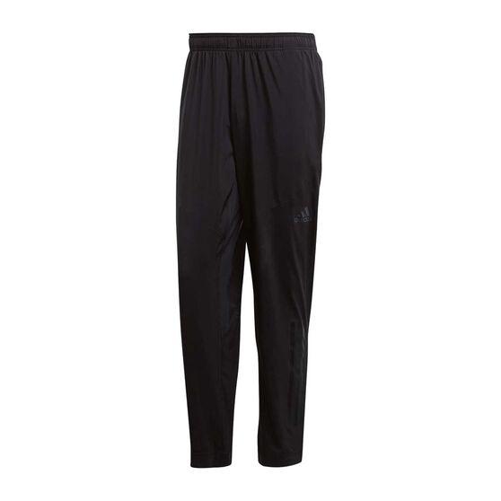 cheap for discount cc703 79363 adidas Mens Climacool Workout Training Pants Black S Adult, Black,  rebel hi-res