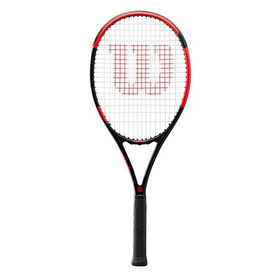 Wilson Nemeisis Team 2.0 Tennis Racquet Black / Grey 4 1/4 in, Black / Grey, rebel_hi-res