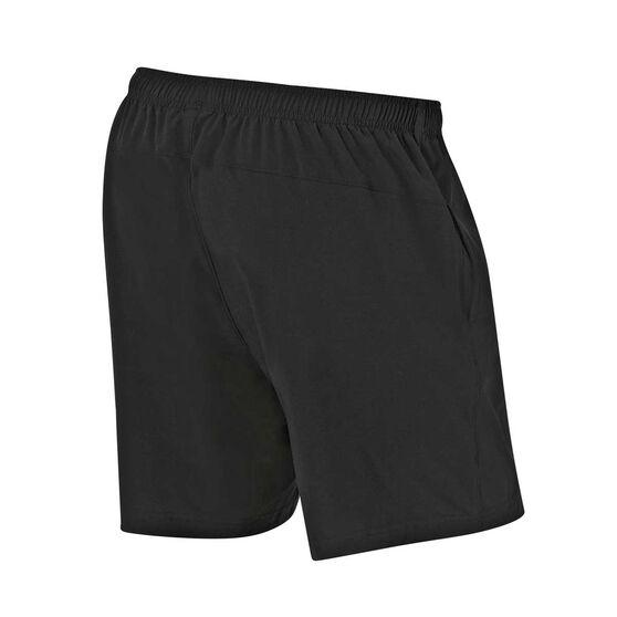 New York Yankees 2019/20 Mens Training Shorts Black L, Black, rebel_hi-res