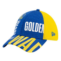 Golden State Warriors New Era 39THIRTY Tip Off Cap Blue/Yellow, Blue/Yellow, rebel_hi-res