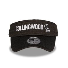 Collingwood Magpies 2018 AFLW Training Visor OSFA, , rebel_hi-res