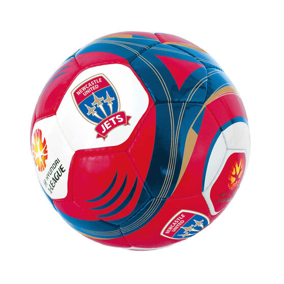 A League Newcastle Jets Mini Supporter Soccer Ball, , rebel_hi-res