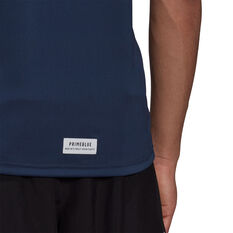 adidas Mens Run for the Oceans Graphic Tee, Navy, rebel_hi-res