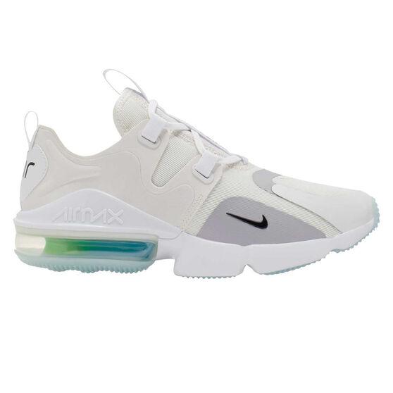 Nike Air Max Infinity Mens Casual Shoes, White/Black, rebel_hi-res