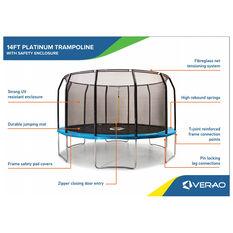 Verao Platinum 2.0 14ft Trampoline, , rebel_hi-res