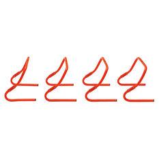 Achilles 4 Pack Adjustable Speed Hurdle Set, , rebel_hi-res