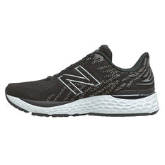 New Balance 1080v11 Womens Running Shoes Black/White US 6, Black/White, rebel_hi-res