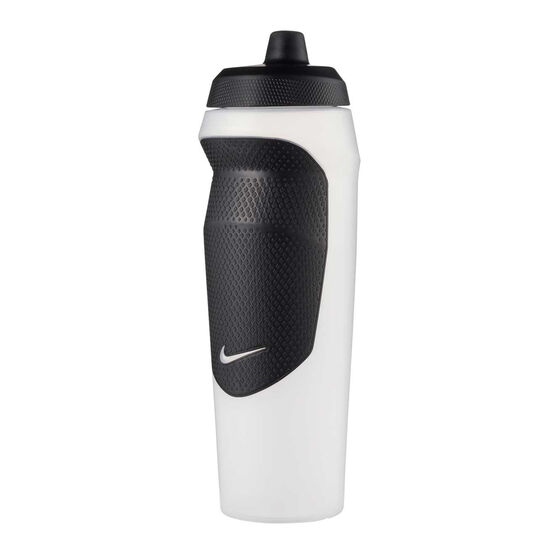 Nike Hypersport 600mL Water Bottle Clear, Clear, rebel_hi-res