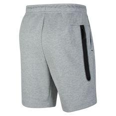 Nike Mens Sportswear Tech Fleece Shorts Grey, Grey, rebel_hi-res