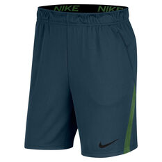 Nike Mens Dri-FIT Training Shorts Blue S, Blue, rebel_hi-res