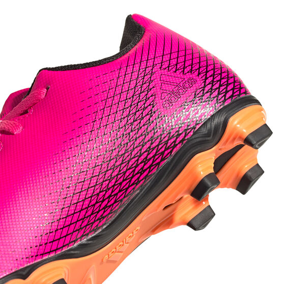 adidas X Ghosted .4 Kids Football Boots, Pink, rebel_hi-res