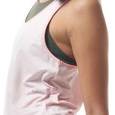 Ell & Voo Womens Jenny Colour Block Tank, Pink, rebel_hi-res