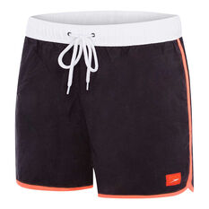 Speedo Mens Wave Watershort Grey / White S, Grey / White, rebel_hi-res