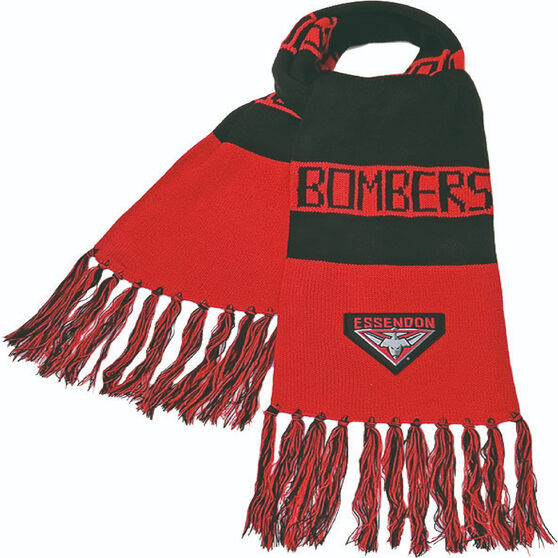 Essendon Bombers Bar Scarf, , rebel_hi-res