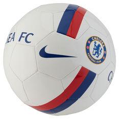 Nike Chelsea FC Sports Soccer Ball White / Blue 5, White / Blue, rebel_hi-res