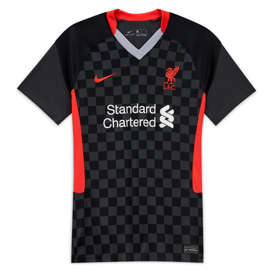 Liverpool FC 2020/21 Womens Stadium 3rd Jersey Black 8, Black, rebel_hi-res