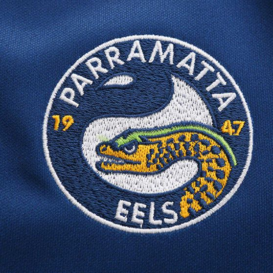Parramatta Eels 2020 Kids Home Jersey, Yellow / Blue, rebel_hi-res