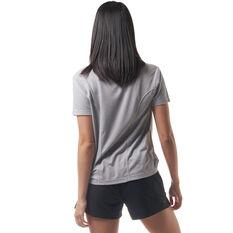 Ell & Voo Womens Jordan Tee Grey XXS, Grey, rebel_hi-res