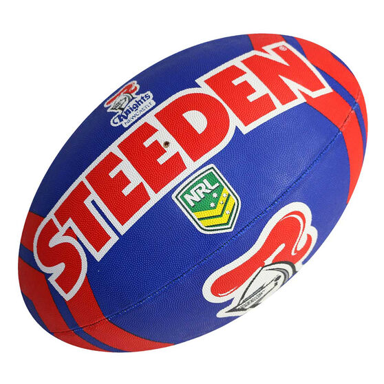 Steeden NRL Newcastle Knights Rugby League Ball, , rebel_hi-res