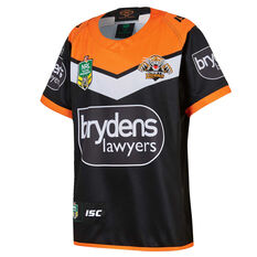 Wests Tigers 2018 Youth Home Jersey, , rebel_hi-res