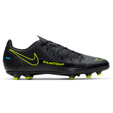 Nike Phantom GT Club Football Boots Black US Mens 7 / Womens 8.5, Black, rebel_hi-res