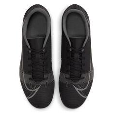Nike Mercurial Vapor 14 Club Football Boots, Black/Grey, rebel_hi-res