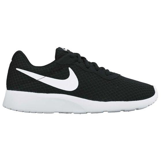 Nike Tanjun Womens Casual Shoes, Black / White, rebel_hi-res