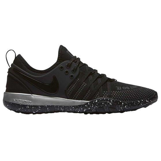 ee24bc2a898a Nike Free Train 7 Selfie Womens Training Shoes Black   Silver US 6 ...