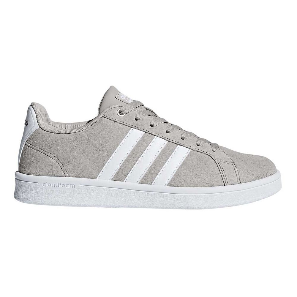 adidas Cloudfoam Advantage Womens Casual Shoes Grey   White US 8 ... 72d12af1f