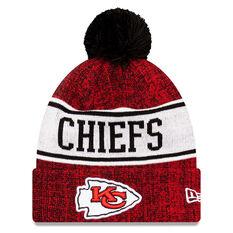 Kansas City Chiefs New Era Pom Knit Beanie, , rebel_hi-res