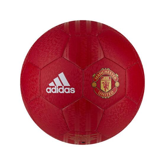 adidas Manchester United Club Home Soccer Ball, , rebel_hi-res