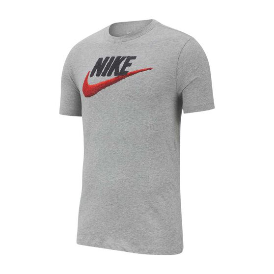 Nike Mens Sportswear Brandmark Tee, Grey, rebel_hi-res