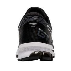 Asics GT 1000 9 Kids Running Shoes, Black/White, rebel_hi-res
