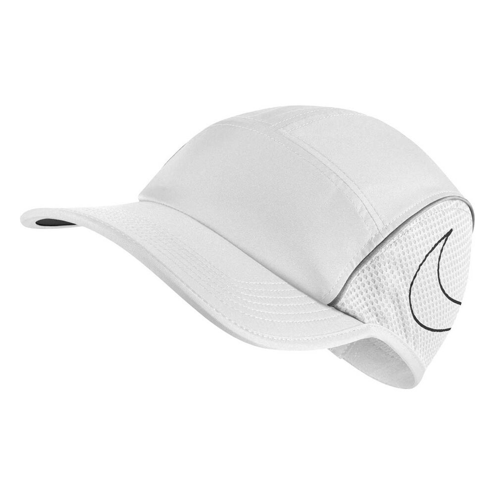 Nike AeroBill Running Cap White OSFA  9897e90b1ab