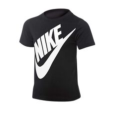 Nike Boys Jumbo Futura Tee Black 4, Black, rebel_hi-res
