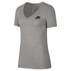 Nike Womens Sportswear Tee Grey XS, Grey, rebel_hi-res