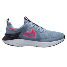 Nike Legend React 2 Mens Running Shoes Grey/Red US 7, Grey/Red, rebel_hi-res