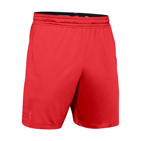 Under Armour Mens MK-1 7in Shorts Red S, Red, rebel_hi-res
